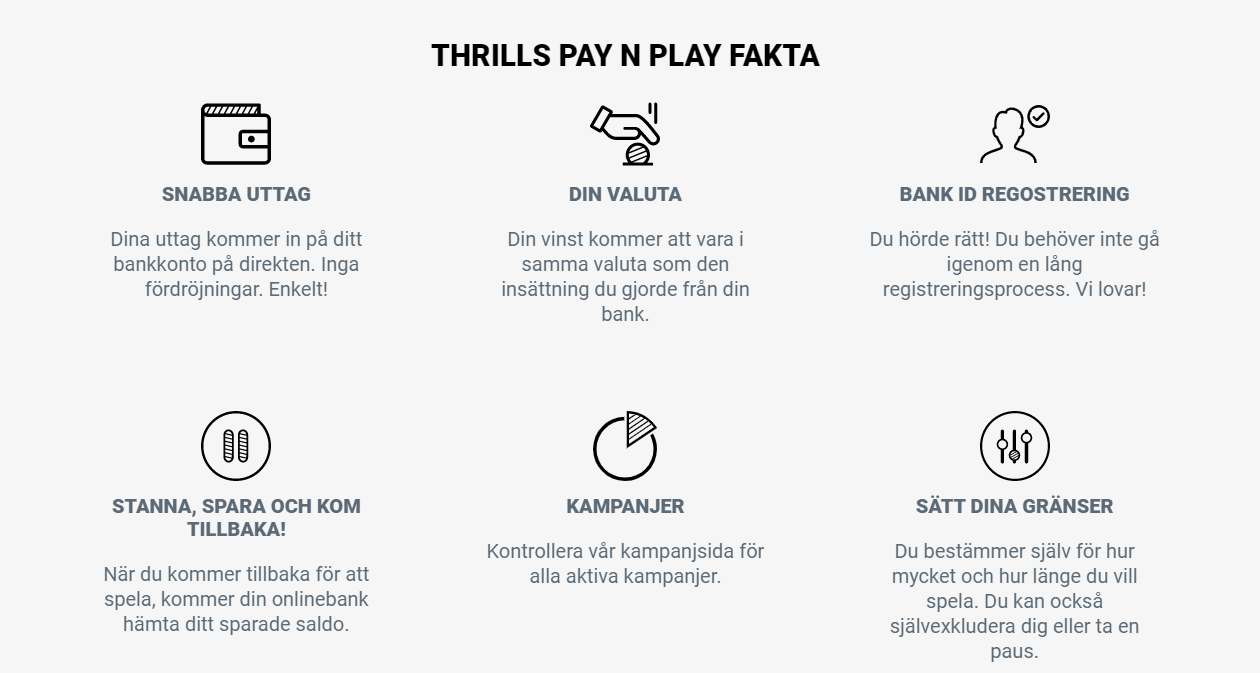 THRILLS PAY N PLAY FAKTA